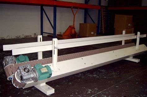 wooden slatted conveyor buckle packaging
