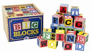 Schylling large abc alphabet blocks toy new free for Toy letter blocks