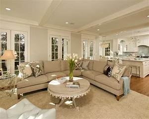 Transitional Living Room Beautiful Homes Design