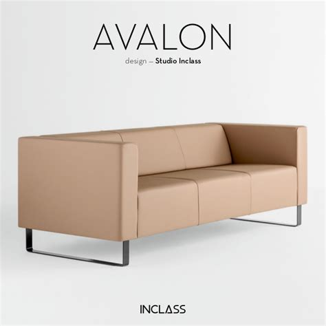 Avalon Sofa Collection by Studio Inclass