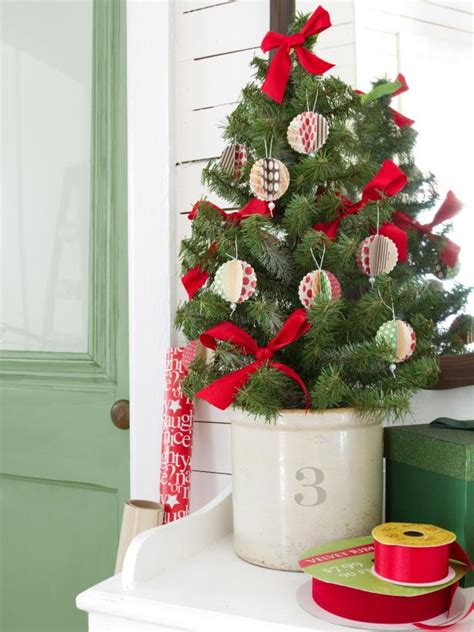 hand made christmas out of paper card stock ornaments hgtv
