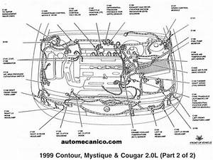 2002 Ford Focus Dohc Zetec Engine Diagrams  Ford  Auto