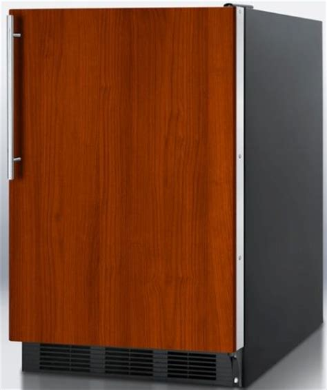 refrigerators that accept cabinet panels summit ff6bbiif built in undercounter all refrigerator