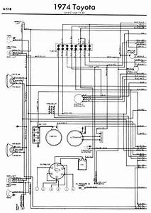 Wiring  U0026 Diagram Info  Toyota Land Cruiser Fj40 1974