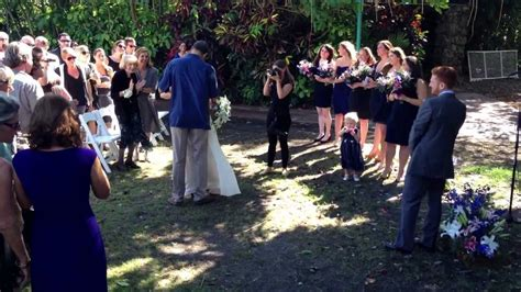 dara s beautiful wedding pinecrest gardens