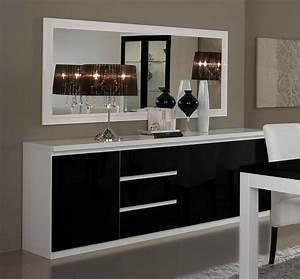Petit Buffet Salon : 40 id es pour votre int rieur avec le bahut noir laqu ~ Teatrodelosmanantiales.com Idées de Décoration