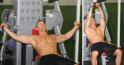 Pec Deck Flyes Superset Push Ups by Your Chest To Grow With A Push And Stretch