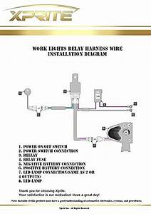 Led Light Bar Wiring Harness 1 Leg