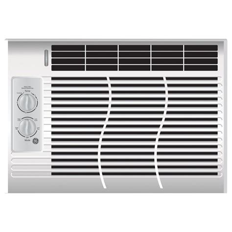 ge 5 000 btu 115 volt room air conditioner only ael05lv the home depot