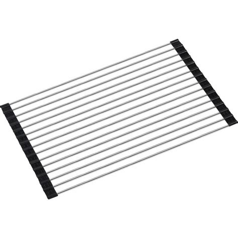 stainless steel sink protector mats multi purpose folding stainless steel sink roll mat buy