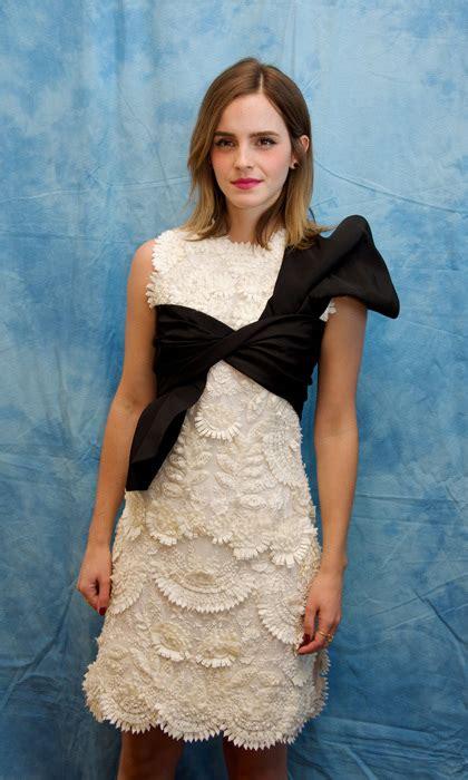 Emma Watson Fairytale Beauty The Beast Style From
