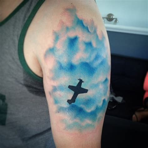 amazing cloud tattoos  meanings  collection