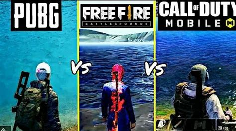 It has more than 35 weapons across categories like ars, smgs, snipers, pistols, shotguns, explosives, and more. PUBG Mobile vs Free Fire vs COD Mobile: Which game's ...
