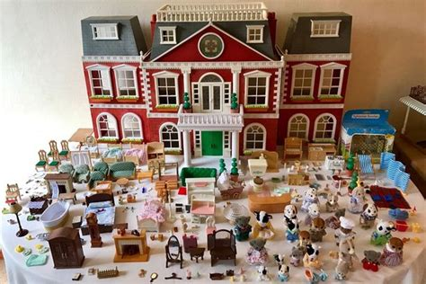 Full Bedroom Furniture Set by Sylvanian Families Selling For Huge Sums On Ebay The 6