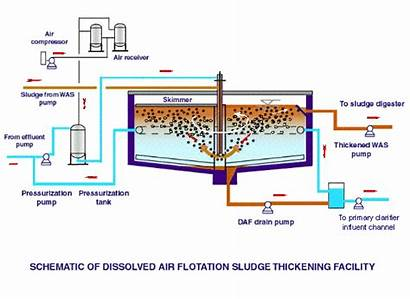 Sludge Treatment Plant Daf Study Wastewater Solids