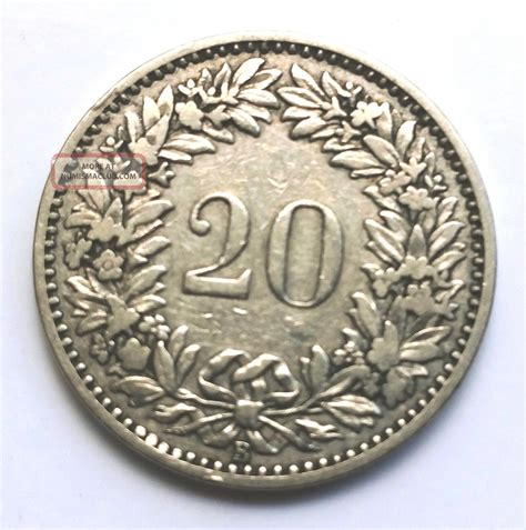 valuable antiques to look for antique switzerland 1881 b 20 rappen rare coin take a look