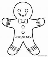 Gingerbread Coloring Pages Printable Cookie Drawing Shrek Cool2bkids Colouring Sheets Christmas Line Children Puppets Cupcake Clip Getcolorings Getdrawings Background Ornaments sketch template