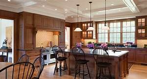 Mansion - Traditional - Kitchen - boston - by Design Resource
