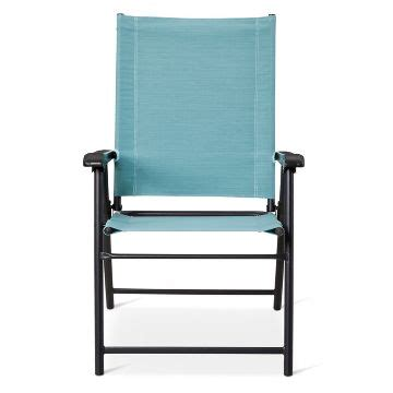 sling folding patio chair target outdoor folding chairs target