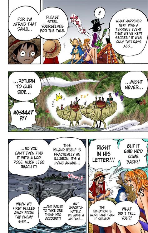 One Piece Chapter 811 Page 2 Of 2 One Piece Manga