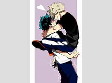 Deku and Kacchan ~ haha I find this cute is that the