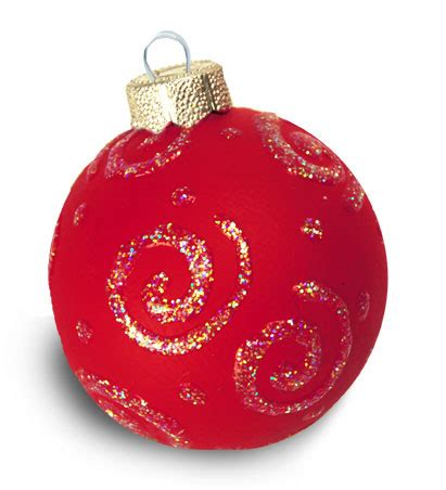 swirls of snow ornament favecrafts - Red Christmas Ornaments