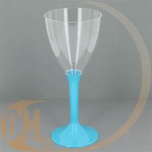 Verre à Eau à Pied : photo verre a pied en plastique jetable vaisselle maison ~ Teatrodelosmanantiales.com Idées de Décoration