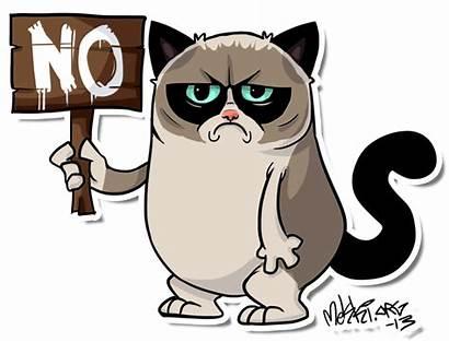 Grumpy Cat Deviantart Grumpycat Mekki Cartoon Meme