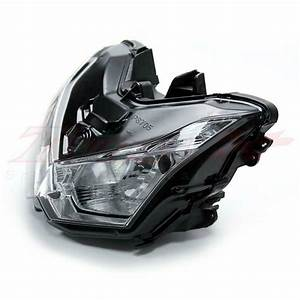 Motorcycle Parts Headlight Lamp Assembly For Kawasaki