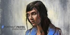 Peindre Au Pastel : apprendre peindre un portrait au pastel sec d monstration apprendre dessiner avec dessin ~ Melissatoandfro.com Idées de Décoration