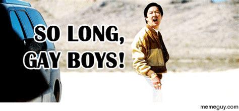 Mr Chow Gay Meme - mrw finishing school for the summer meme guy