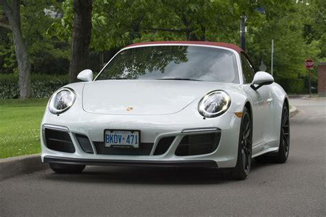 Porsche 911 4 Gts Cabriolet by 2017 Porsche 911 4 Gts Cabriolet Review Trackworthy