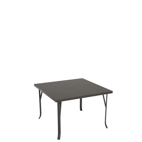 ion 42 quot square dining table ada compliant tropitone