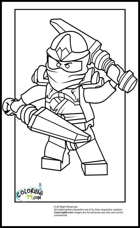 dibujos de ninjago  colorear  kids page