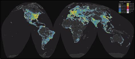 Carte Pollution Lumineuse Info by La Pollution Lumineuse Emp 234 Che Un Tiers De L Humanit 233 D