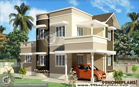 bedroom kerala house plans double floor stylish home designs