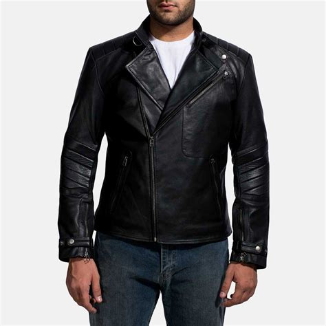 collection of mens leather biker jackets best fashion