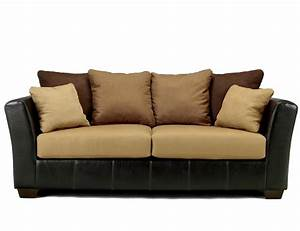 Ashley furniture signature design lawson saddle living for Sofa outlet