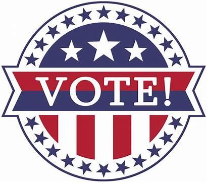 Vote Clipart Badge States United Voting Transparent