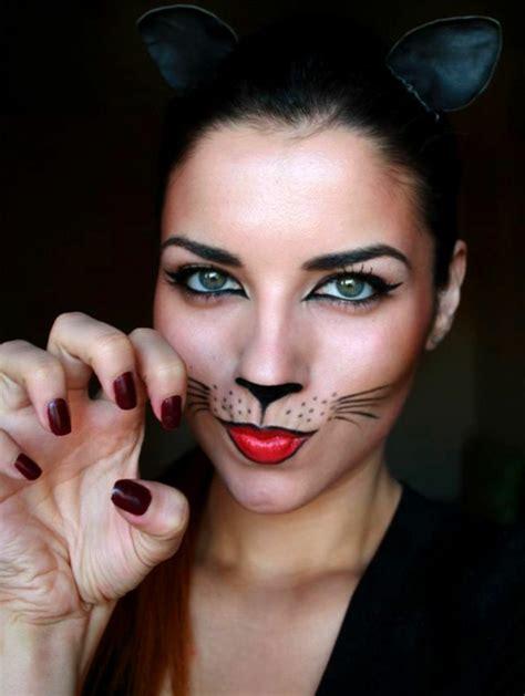 schminken katze einfach eine diy idee katze schminken archzine net