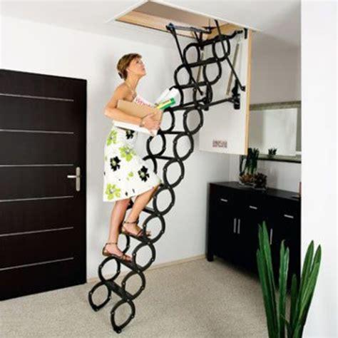 Modele D Escalier Interieur #4  5 Escaliers Escamotables