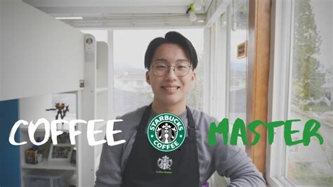 Starbucks corporation is an american multinational chain of coffeehouses and roastery reserves headquartered in seattle, washington. The Black Apron | Starbucks Coffee Master - YouTube