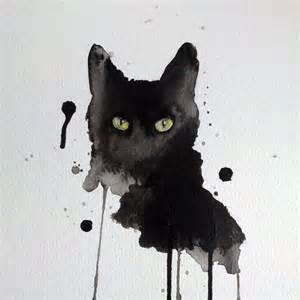 black cat painting 25 best ideas about black cat on cat