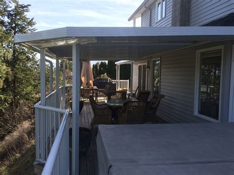 half covered patio kelowna patio covers and deck covers tropicana sunrooms patio covers ltd
