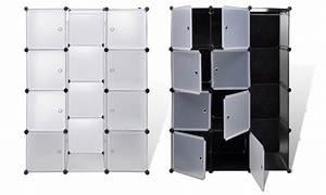 Armoire Rangement Plastique : armoire de rangement modulable groupon shopping ~ Teatrodelosmanantiales.com Idées de Décoration