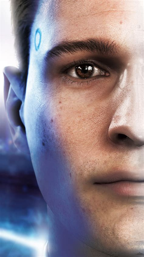 Detroit become human wallpaper 1920×1080 posted by john cunningham. 750x1334 Connor Detroit Become Human 2018 iPhone 6, iPhone ...
