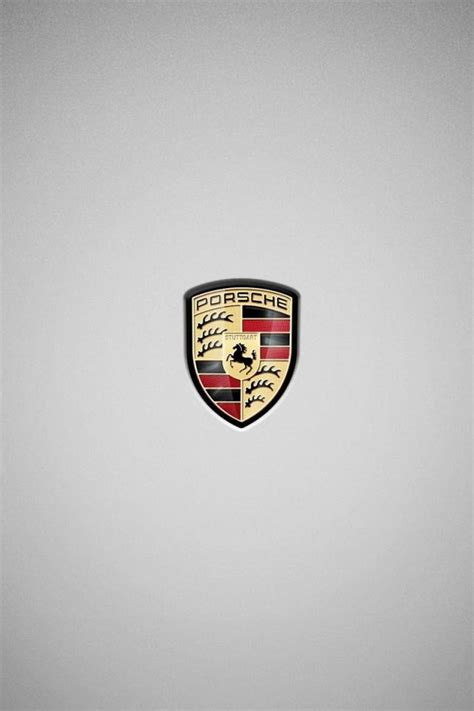 Simple Porsche Logo Wallpaper