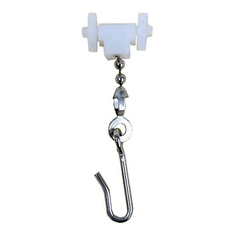 curtain track carrier hook