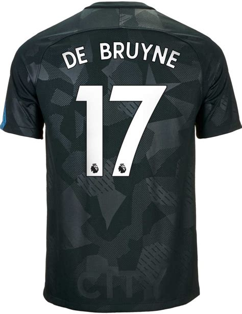 Nike Kids Kevin De Bruyne Manchester City 3rd Jersey 2017 ...