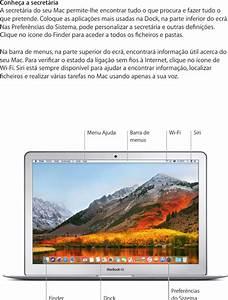Apple Macbookair 13 Inch 2017  Macbook Air Manual De
